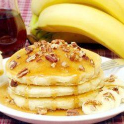 Оладки з бананом на кефірі пять простих покрокових рецептів