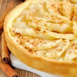 Яблучний пиріг з корицею - пять нескладних покрокових рецептів випічки