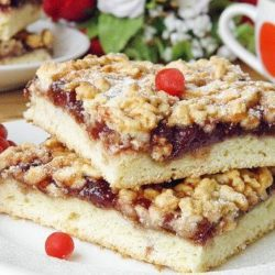 Пиріг з пісочного тіста з варенням пять простих покрокових рецептів