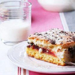 Пиріг на молоці з варенням пять простих покрокових рецептів