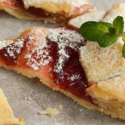 Пісний пиріг з варенням пять простих покрокових рецептів