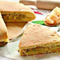 Пиріг з капустою без яєць пять простих покрокових рецептів