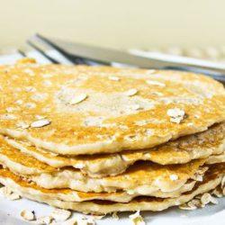 Вівсяні млинці на молоці пять простих покрокових рецептів
