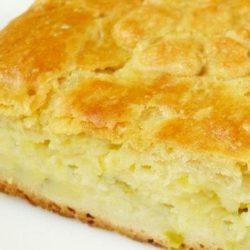 Пиріг з картоплею на кефірі пять простих покрокових рецептів