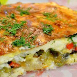 Картопляна запіканка з овочами 5 простих покрокових рецептів