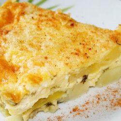 Картопляна запіканка з яйцем 5 простих покрокових рецептів