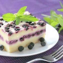 Сирна запіканка з ягодами 6 простих покрокових рецептів
