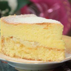 Сирний торт пять простих покрокових рецептів
