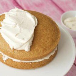 Вершковий крем для бісквітного торта шість простих покрокових рецептів