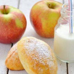 Пиріжки з яблуками на кефірі пять простих покрокових рецептів