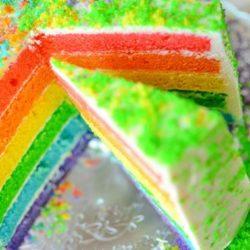 Торт «веселка» пять простих покрокових рецептів