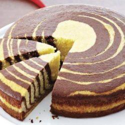 Торт «зебра» вісім простих покрокових рецептів