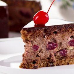 Торт «пяна вишня» пять простих покрокових рецептів