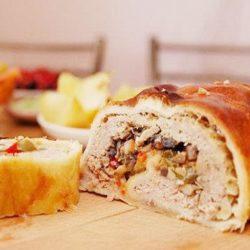 Штрудель з мясом шість простих покрокових рецептів