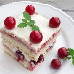 Бісквітний торт з маскарпоне шість простих покрокових рецептів