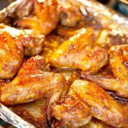Курячі крильця в духовці девять простих покрокових рецептів
