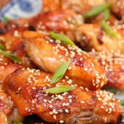 Курячі крильця в соєвому соусі в духовці пять простих покрокових рецептів