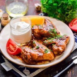 Курячі крильця на сковороді 5 простих покрокових рецептів з фото