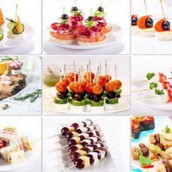 Прості і смачні канапе на шпажках на святковий стіл вісім простих покрокових рецептів з фото