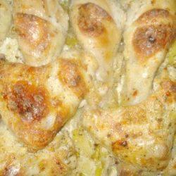 Курка з картоплею в сметані в духовці 5 простих покрокових рецептів