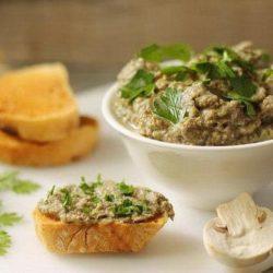 Як швидко приготувати смачний грибний паштет: шість простих покрокових рецептів