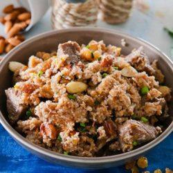 Пшенична каша з мясом шість простих покрокових рецептів