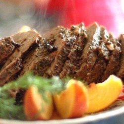 Рецепт приготування низькокалорійного дієтичного мясо в духовці