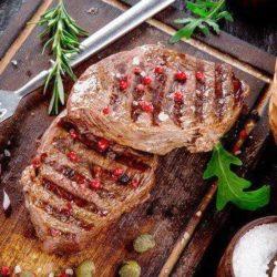 Мясо на грилі в духовці - докладні покрокові рецепти