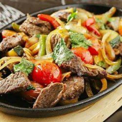 Свинина з овочами на сковороді 5 простих покрокових рецептів
