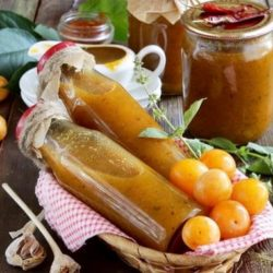 Соус з аличі на зиму пять простих покрокових рецептів