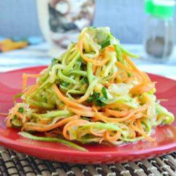 Салат з кабачків по-корейськи на зиму шість простих покрокових рецептів