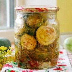 Смажені кабачки на зиму пять простих покрокових рецептів