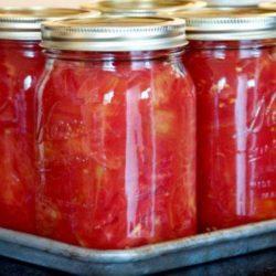 Салат з помідорів на зиму шість простих покрокових рецептів