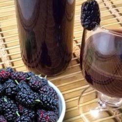Домашнє вино з шовковиці шість простих покрокових рецептів