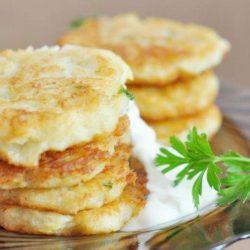 Оладки з кабачків і картоплі - пять оригінальних покрокових рецептів