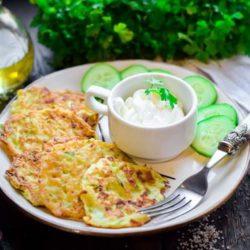 Оладки з кабачків в духовці - пять оригінальних покрокових рецептів з фото