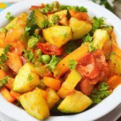 Овочеве рагу для дітей пять простих покрокових рецептів