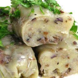 Голубці з картоплею пять простих покрокових рецептів