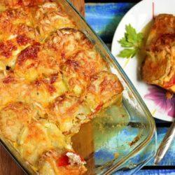 Як приготувати смачну запіканку з кабачків і картоплі в духовці: пять докладних покрокових рецептів