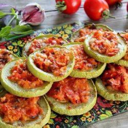 Кабачки в духовці з помідорами девять простих покрокових рецептів