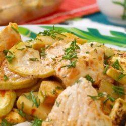 Індичка з кабачками в духовці 5 простих покрокових рецептів