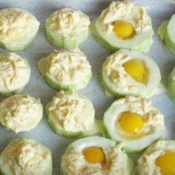 Кабачки з яйцем в духовці: шість простих покрокових рецептів