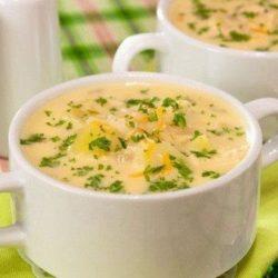 Сирний суп з вермішеллю пять простих покрокових рецептів