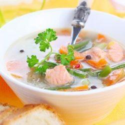 Дієтичний рибний суп пять простих покрокових рецептів