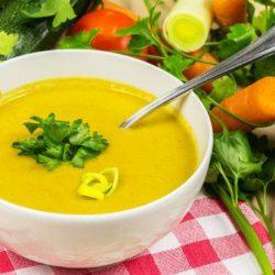 Овочевий крем-суп, шість покрокових рецептів