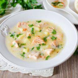 Рибний суп з плавленим сиром пять простих покрокових рецептів