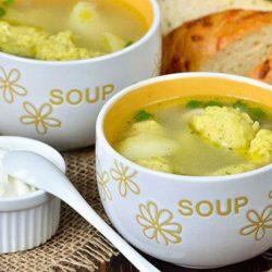 Курячий суп з галушками: пять простих покрокових рецептів першого страви