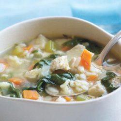 Суп з цвітної капусти з куркою пять простих покрокових рецептів