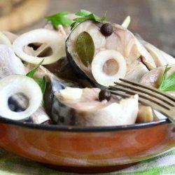 Сагудай з скумбрії: пять простих покрокових рецептів