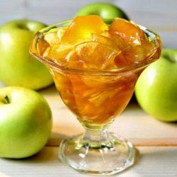 Варення із зелених яблук сім простих покрокових рецептів